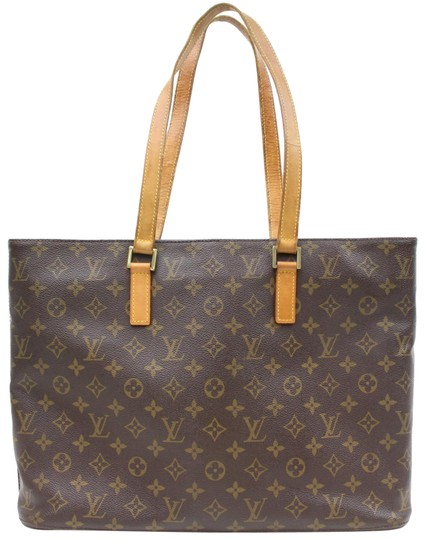 Preload https://item2.tradesy.com/images/louis-vuitton-luco-monogram-zip-865998-brown-coated-canvas-tote-23008816-0-1.jpg?width=440&height=440