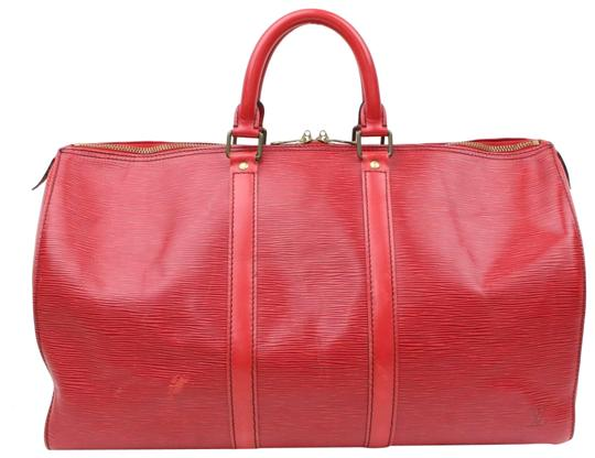 Preload https://item1.tradesy.com/images/louis-vuitton-keepall-45-865999-red-leather-weekendtravel-bag-23008820-0-1.jpg?width=440&height=440