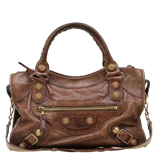 Preload https://item3.tradesy.com/images/balenciaga-gh-city-brown-leather-tote-23008822-0-0.jpg?width=440&height=440