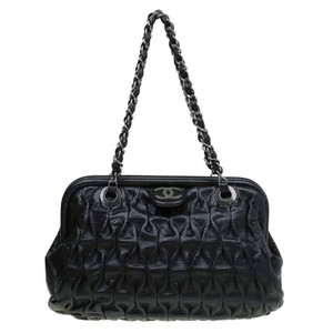 Chanel Perforated Leather Shoulder Bag