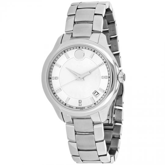 Preload https://img-static.tradesy.com/item/23008951/movado-white-women-s-bellina-mother-of-pearl-dial-0606978-watch-0-0-540-540.jpg
