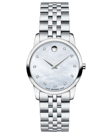 Preload https://item4.tradesy.com/images/movado-silver-women-s-museum-mother-of-pearl-diamond-dial-0606612-watch-23008958-0-0.jpg?width=440&height=440