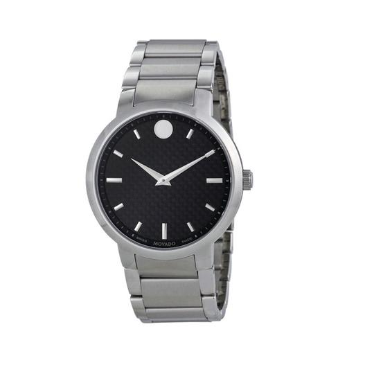Movado Movado Men's Gravity Black Carbon Fiber Dial Watch 0606838