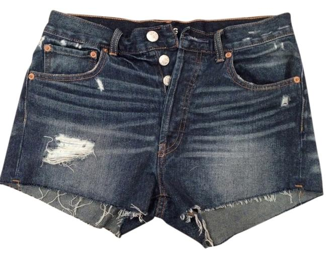 BDG Cut-off Urban Outfitters Distressed Short Shorts Denim Shorts-Distressed
