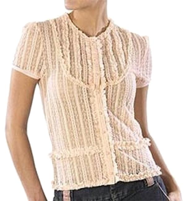 Preload https://item3.tradesy.com/images/tara-jarmon-for-target-peach-lace-blouse-size-8-m-2300912-0-0.jpg?width=400&height=650