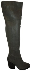 1453413d0a7 ALDO Over The Knee Leather Thigh High sage green Boots