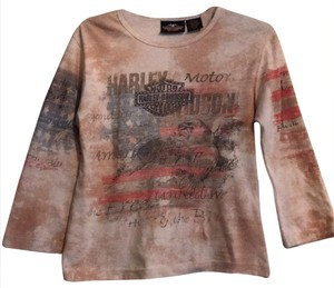 672ff4d7c15a1 Beige Harley Davidson Tops - Up to 70% off a Tradesy
