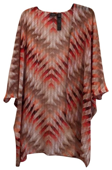 Item - Multicolor Travelers Collection Wrap Cardigan Size 14 (L)