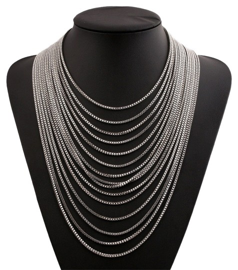 Preload https://img-static.tradesy.com/item/2300958/gold-fashion-silver-or-pendant-statement-bib-chunky-charm-choker-necklace-0-0-540-540.jpg