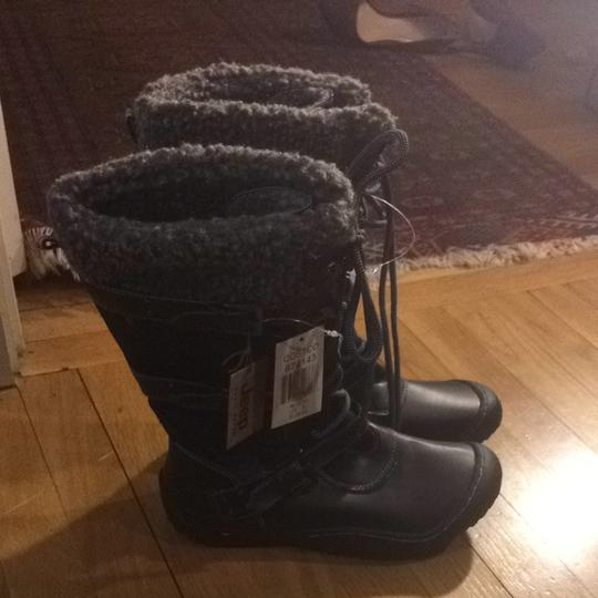 J-41 Black And Grey Boots