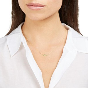 Jennifer Meyer Jewelry Jennifer Meyer Gold MINI LEAF NECKLACE