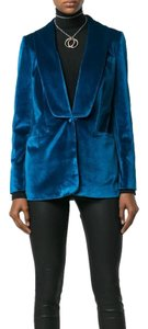 self-portrait Peacock Blue Blazer