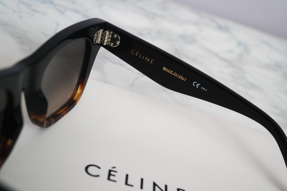 6776633c03a Céline Black Havana New Cl 41098 S Catherine Cat Eye Sunglasses ...