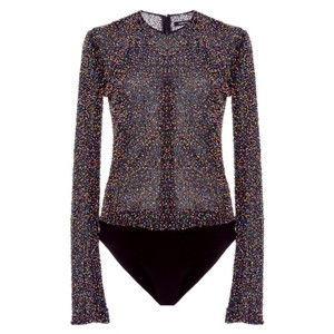 Cushnie et Ochs Top Black Multi