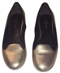 Cole Haan Air Gold Flats