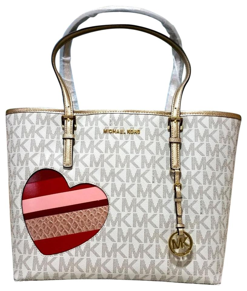 fda0cfd4d06f Michael Kors Candy Reversible Includes Pouch Red Tote in multicolor Image 0  ...