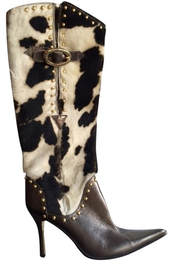 Dolce&Gabbana Pony and leather Boots