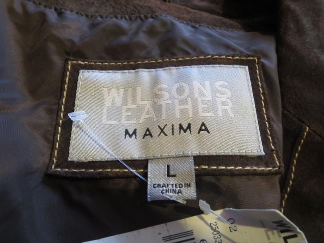 Wilsons Leather Top brown Image 4