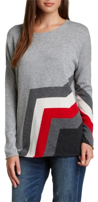 Preload https://item5.tradesy.com/images/cullen-gray-red-cashmere-sweaterpullover-size-petite-4-s-2301124-0-0.jpg?width=400&height=650
