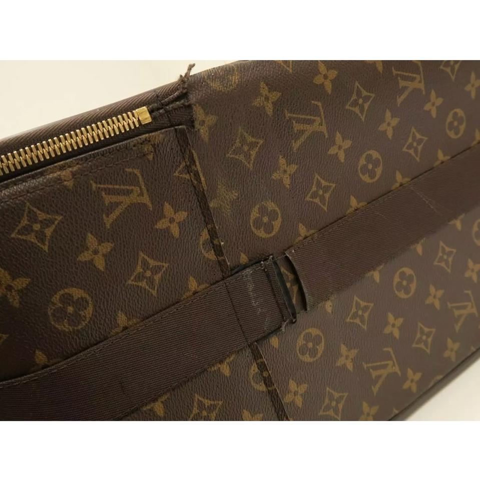 louis vuitton sale pegase monogram leather weekend travel bag tradesy. Black Bedroom Furniture Sets. Home Design Ideas