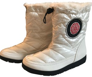 Madden Girl icicle white Boots