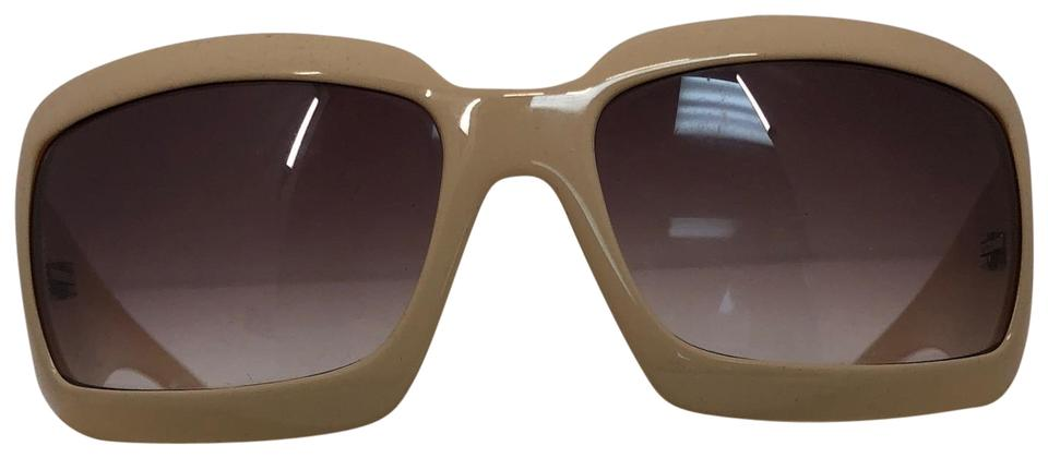 ebadf99220 Chanel Brown and Tan 5076 Logo Cc Mother Of Pearl Sunglasses - Tradesy
