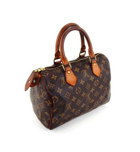 Louis Vuitton Vintage Speedy Monogram France Tote in Brown