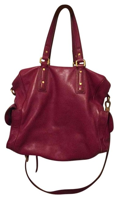 Item - Cherry Red Leather Hobo Bag