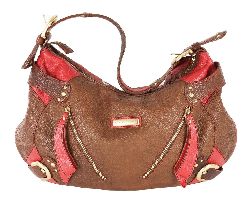 ea015b6c07d5 Isabella Fiore Audra Free Spirit Hand Painted Tatoo Style Leather Hobo Bag.  123456789