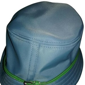 Coach Ready for the Spring! Beautiful light blue hat with green strap