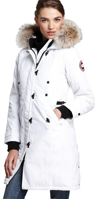 Item - White Kensington Pre-owned Coat Size 4 (S)