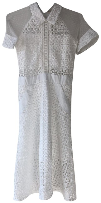 Preload https://img-static.tradesy.com/item/23012065/shein-white-lace-mid-length-short-casual-dress-size-4-s-0-1-650-650.jpg