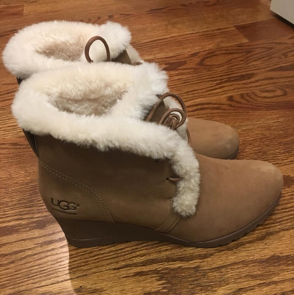 3907037b9692 UGG Australia Tan Jeovana Boots Booties Size US 8 Regular (M