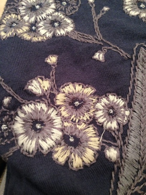 Lucky Brand Lucky Brand Embroidered Hoodie