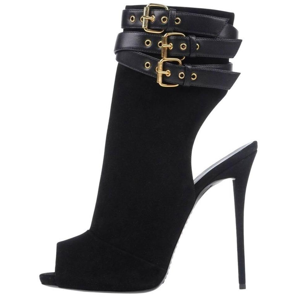 cc5c7460f35 Giuseppe Zanotti Black Suede Ankle Boots Booties. Size  EU 39 (Approx. US 9)  ...