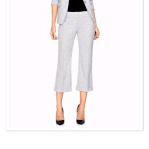 The Limited Capri/Cropped Pants gray