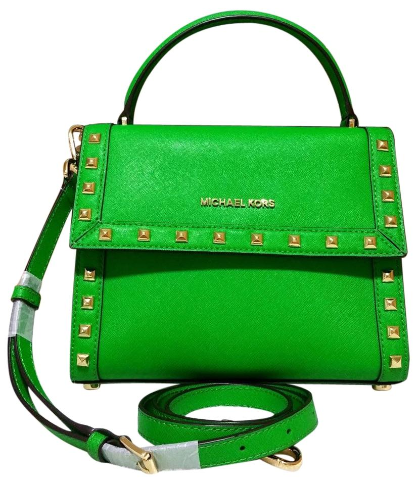 Michael Kors Dillon Satchel In Green