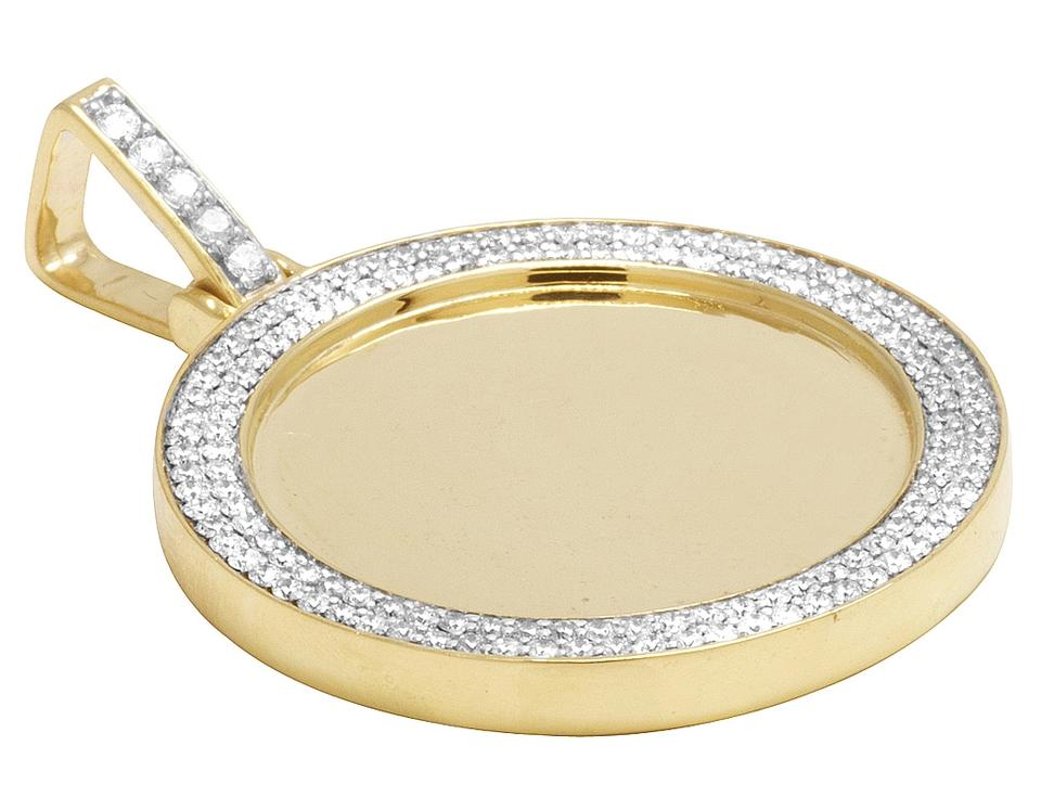 Jewelry unlimited 10k yellow gold memory medallion photo engrave 123456 aloadofball Gallery