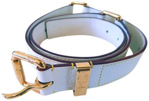 Louis Vuitton Louis Vuitton Suhali Leather Studded Belt