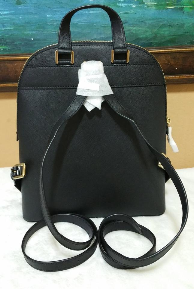 f880ea6e3259 Michael Kors Emmy Black Leather Backpack - Tradesy