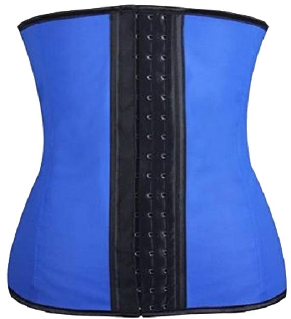 Waist Trainer Top Blue