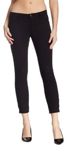 J Brand Crop Top Capri Stretchy Skinny Jeans-Dark Rinse
