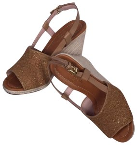 Kate Spade Espadrille Sandals Natural vacchetta Wedges