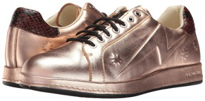 Paul Smith Sneakers Metallic Sneakers Luxury Brand Star Embossed Ps Flat rose gold Athletic