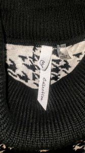 NY Collection Hi Lo Cowlneck Sweater