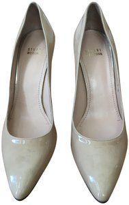 Stuart Weitzman Patent Leather High Heels nude Pumps