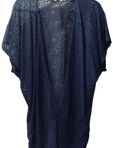 Trina Turk blue cover up/sarong