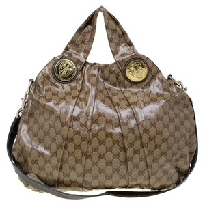 Gucci Hysteria Coated Canvas Hobo Bag