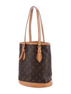 Louis Vuitton Bucket Marais Neverfull Tote in Monogram