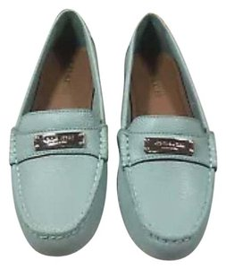 Coach mint green Flats